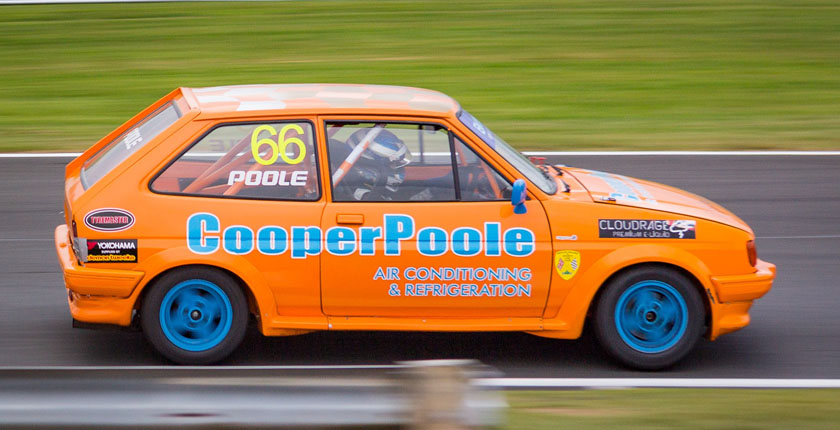 Cooper Poole Racing at Oulton Park